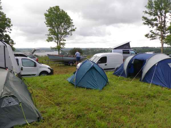 Camping at Lawreny