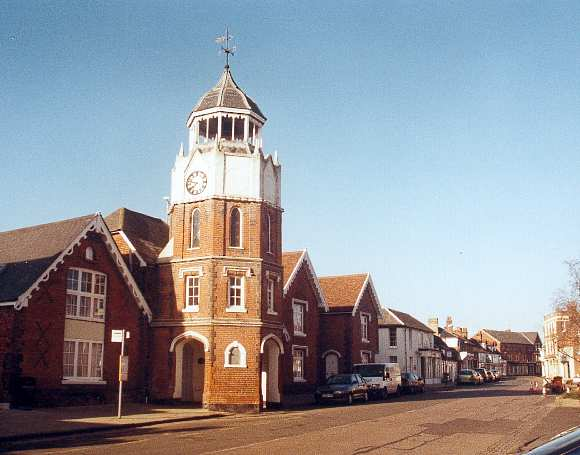 Burnham clock tower